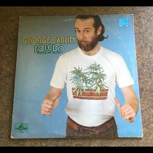 "George Carlin ""Toledo Window Box"" 1974 Vinyl LP"
